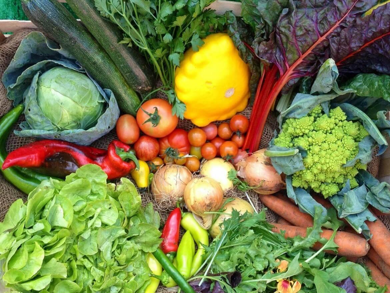 Sveža zelenjava je odlična izbira, če imate kalcinacije