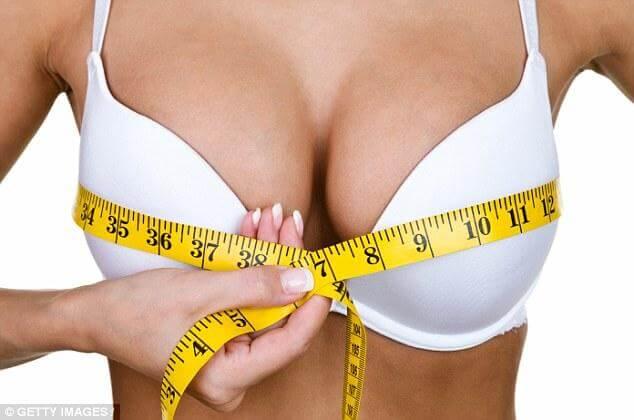 Večje, kot so prsi, večje je tveganje za raka dojk.