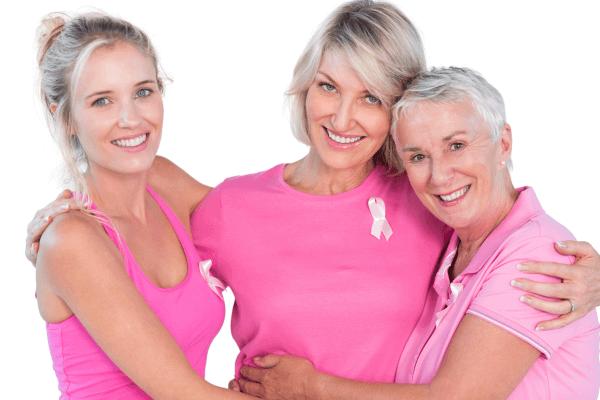 Ženske, ki imajo raka dojk v družini, imajo večje tveganje za obolevnost raka dojk.