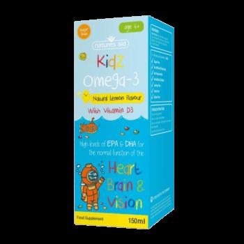 omega-3-kapljice-za-otroke-z-vitaminom-d3-natures-aid-150ml